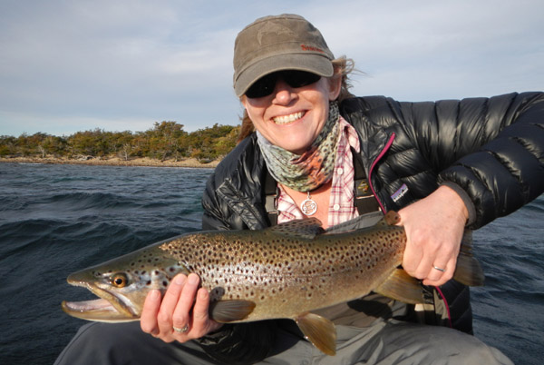 Women Fly Fishing Patagonia