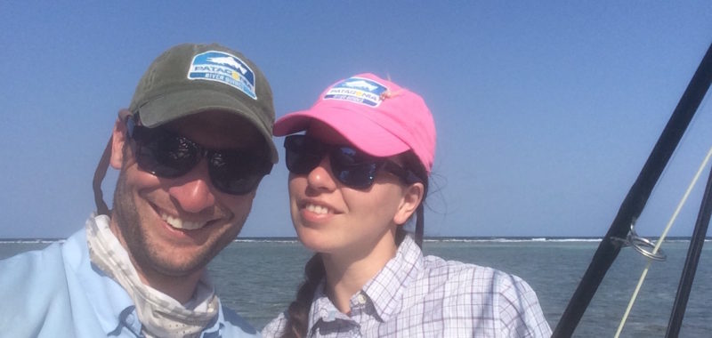 couple_flyfishing_bonefish_belize_saltwater