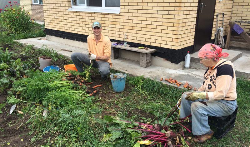 Gardening in Russia