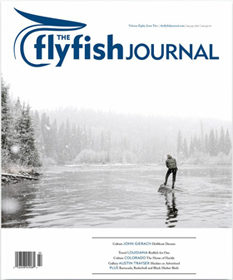 Justin C Witt contributor The Flyfish Journal Issue 8.2