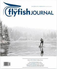 Justin C Witt contributor The Flyfish Journal Issue 8.2