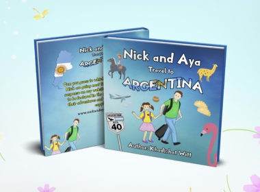 An educational children's travel book