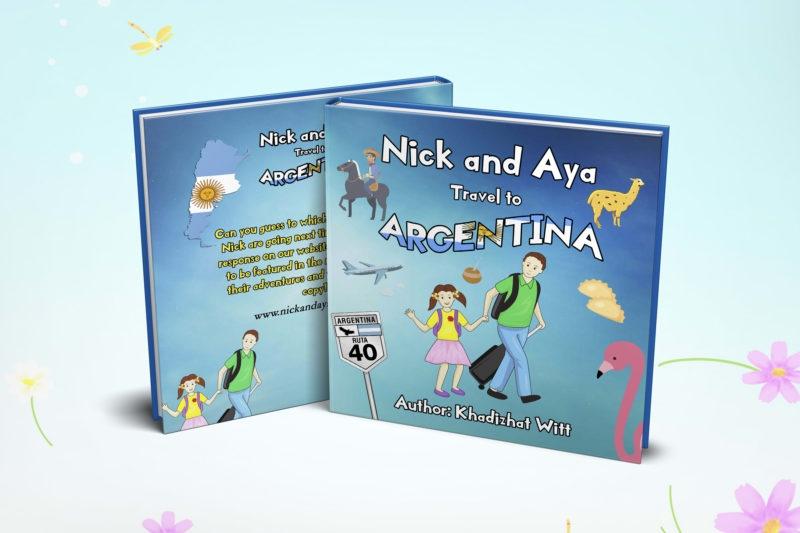 An educational children's travel book